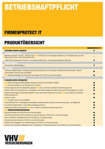 Produktübersicht FIRMENPROTECT IT