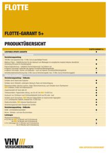 Produktübersicht Flotte-GARANT 5+
