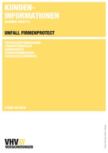 Kundeninformation FIRMENPROTECT Unfall