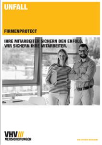 Prospekt FIRMENPROTECT Unfall